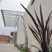 和風住宅外構デザイン 施工前
