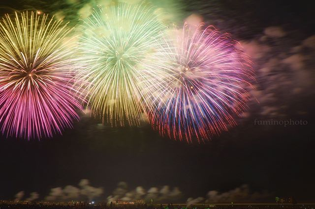#フォトコミュ#花火ら大回転#花火ら大回転2018#icu_japan #bestjapanpics#whim_life #daily_photo_jpn#art_of_japan_ #kf_gallery #igersjp#igers#tokyocameraclub#vsco#nightview#nature#starrynight#awesome#landscape#ocean#sunset#sunrise#longexposure#空#花火#fireworks#夜景#special_spot_#ig_supervizor#jp_gallery